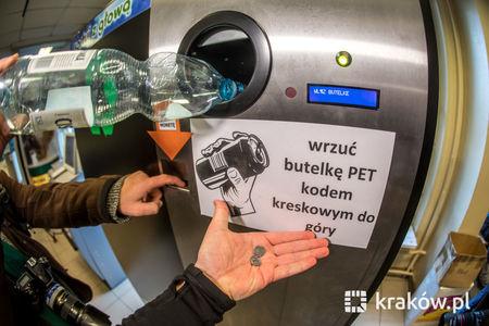 foto: butelkomat stoi m.in. w Krakowie