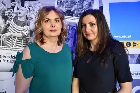 Barbara Jachymczyk (po lewej)
